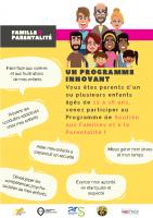 Flyer Soutien familles et parentalité